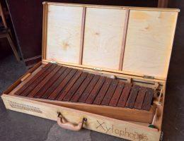 Xylophon im Koffer